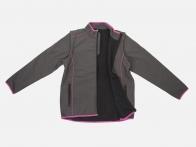 Стильная женская кофта-куртка на молнии.