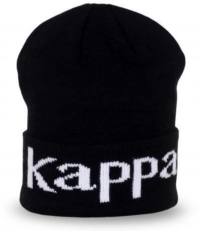 Шапка Kappa черного цвета