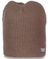 Женская шапка Neff однотонного цвета. Удобная и практичная модель на каждый день и не только