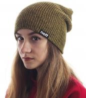 Женская меланжевая шапка от Neff