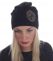 Классическая женская шапочка на флисе