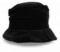 Женская шляпка черного цвета