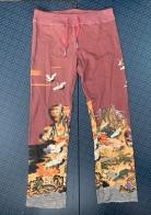 Женские розовые штаны от ТМ Paparazzi