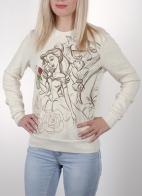 Эффектный женский свитшот Disney® Beauty and the Beast (США).