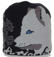 Живописная женственная зимняя шапка утепленная флисом от бренда ActionFox идеальный вариант