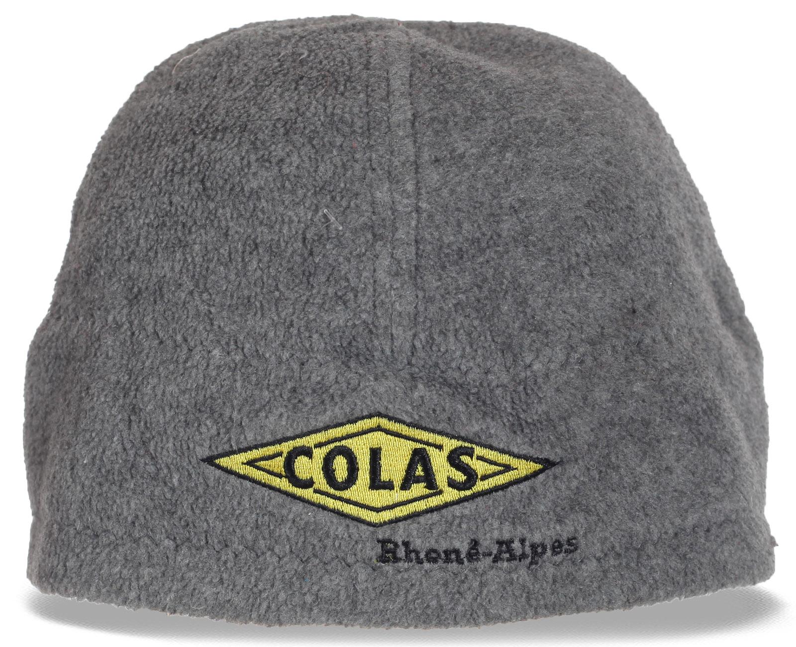 Заказать зимнюю мужскую шапку Colas с меховой подкладкой по специальной цене