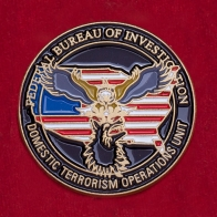 """Значок ФБР """"Подразделение контртеррористических операций"""""""
