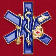 Значок сотрудников скорой медицинской помощи