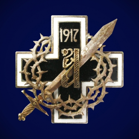 Знак 1-го Конного генерала Алексеева полка