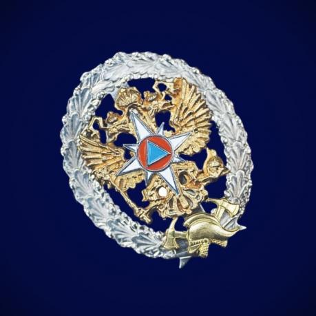 Знак Об окончании Института ГПС МЧС России высшего ПО
