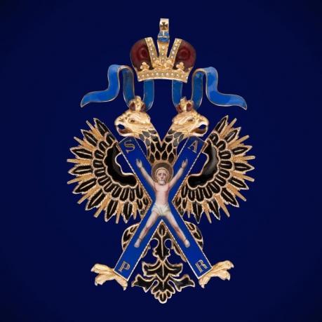 Знак ордена Св. Андрея Первозванного