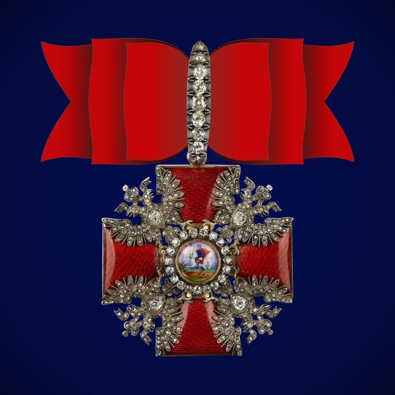 Знак ордена Святого Александра Невского (алмазный)