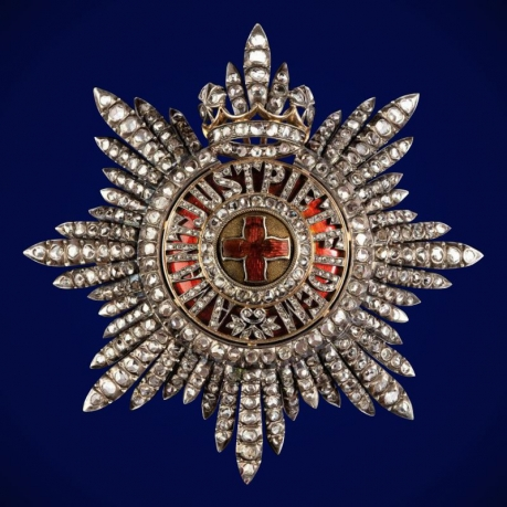 Звезда ордена Святой Анны (алмазная грань)