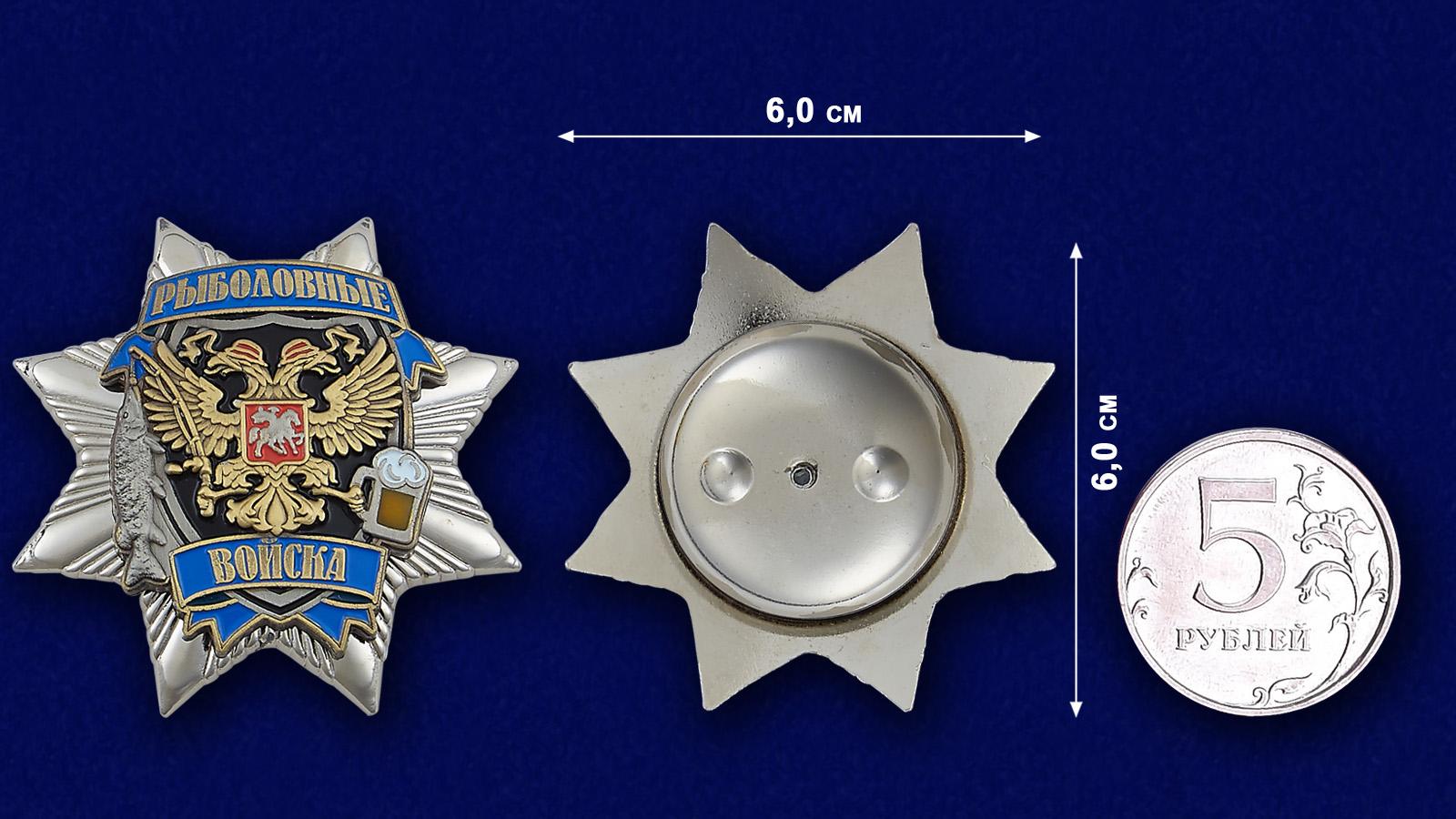 Звезда Рыбака - сравнительный размер